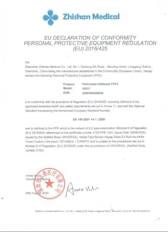 EU Declarationof Conformity